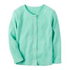 Carter's Long Sleeve Cardigan - Preschool Girls