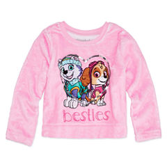 Long Sleeve Paw Patrol Animal Sweatshirt - Toddler Girls