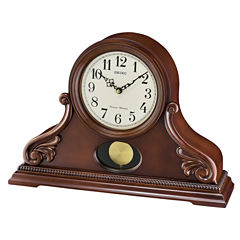 Seiko Cream Mantel Clock-Qxq031blh