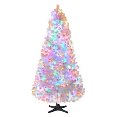 North Pole Trading Co. 7 1/2 Foot Macedon Pre-Lit Christmas Tree