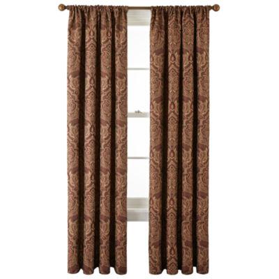 Royal Velvet® Vance Rod Pocket Lined Curtain Panel