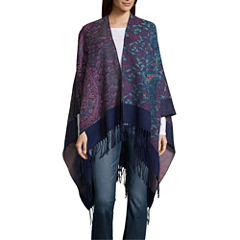 Mixit Paisley Fringe Cold Weather Wrap