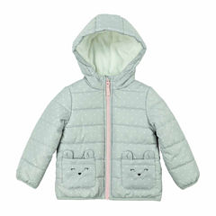Carter's Midweight Dots Puffer Jacket - Girls-Toddler