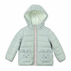 Carter's Midweight Dots Puffer Jacket - Girls-Preschool