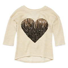 Miss Chievous 3/4 Sleeve Graphic T-Shirt- Girls' 7-16