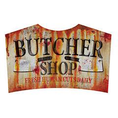 Metal Sign - Butcher Shop