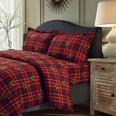 Tribeca Living Vintage Plaid 3-pc. Duvet Cover Set