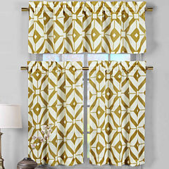 Duck River Mckenna 3-pc. Kitchen Curtain Set
