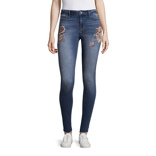 a.n.a. Embroidered Jegging
