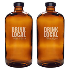 Cathy's Concepts Drink Local 16 Oz. Beer Growler