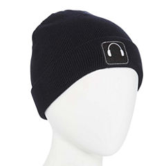 Mixit Embroidered Cuff Beanie