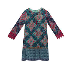 Rare Editions Sleeveless Shift Dress - Preschool Girls