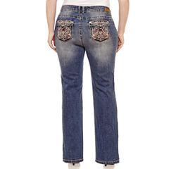 Wallflower Bootcut Jeans-Juniors Plus