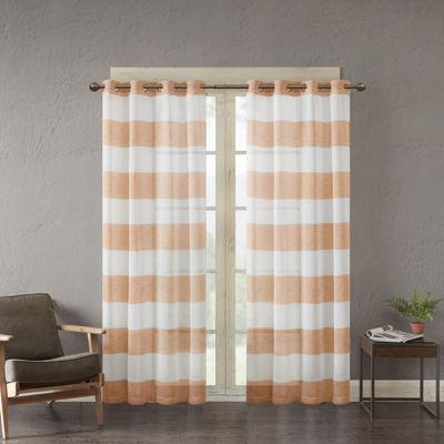 urban habitat chapin grommettop sheer curtain panel - Sheer Drapes