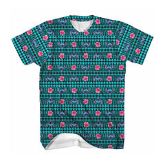 Short-Sleeve Tribal Lilo and Stitch Tee