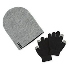 Weatherproof Slouch Beanie & Gloves Set - Big Kid