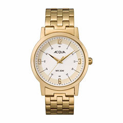 Timex Acqua By Timex Mens Gold Tone Bracelet Watch-Aa3c789009j