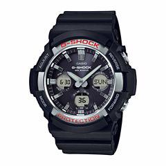 Casio Mens Black Strap Watch-Gas100-1a