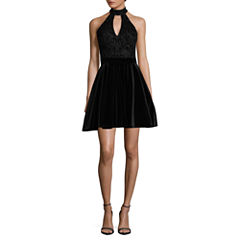 B. Darlin Sleeveless Party Dress-Juniors