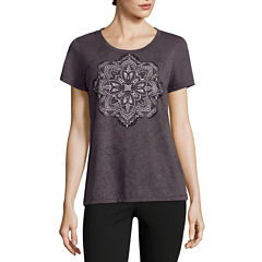 Made For Life Short Sleeve Scoop Neck T-Shirt-Womens