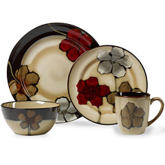 Pfaltzgraff® Painted Poppies 16-pc. Dinnerware Set