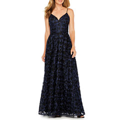 After Dark Sleeveless Evening Gown