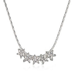 Mixit™ Five-Star Silver-Tone Necklace