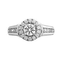 Opulent Diamond 1¼ CT. T.W. Certified Diamond 14K White Gold Ring