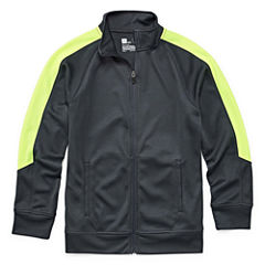 Xersion Boys Lightweight Track Jacket-Big Kid