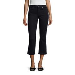 Libby Edelman Crop Flare Jeans