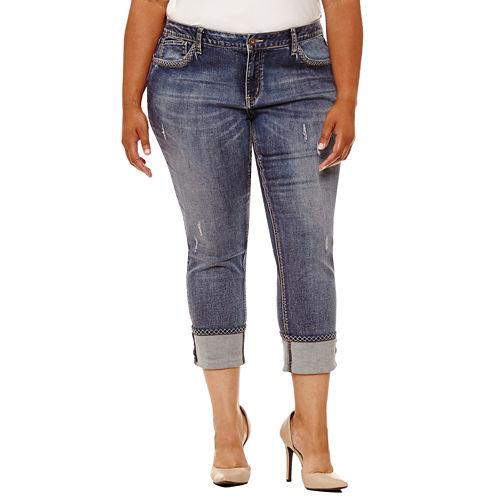 Boutique   26 Skinny Fit Jeans-Plus