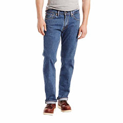 Levi's Men's 505 Regular Fit Stretch Jeans in Hunter's Moon