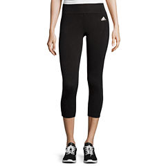 adidas® Clima Studio Midrise 3/4 Length Leggings