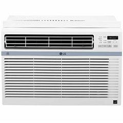 LG Energy Star 12000 BTU 115V Window-Mounted Air Conditioner with Wi-Fi Control