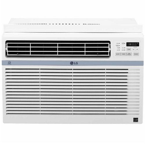LG ENERGY STAR® 8,000 BTU 115V Window-Mounted Air Conditioner with Wi-Fi Control