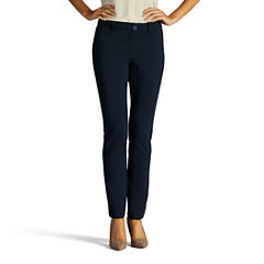 Lee Slim Fit Ponte Pull-On Pants-Petites
