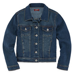 Arizona Girls Denim Jacket - Girls' 7-16 & Plus