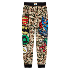Justice League Pajama Set Boys Husky