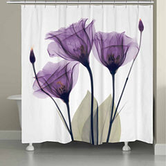 Laural Home Lavender Hope Shower Curtain