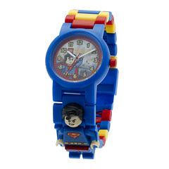 LEGO® DC® Universe Super Heroes Superman Kids Watch with Mini Figure