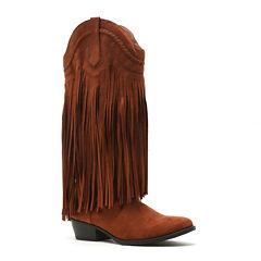 Qupid Sochi-14x Womens Cowboy Boots