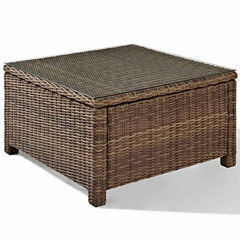 Crosley Bradenton Wicker Patio Coffee Table