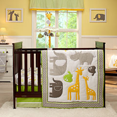 Carter's® 4-pc. Animals Crib Bedding Set - One Size