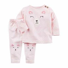 Carter's 2-pc. Grid Pant Set Baby Girls