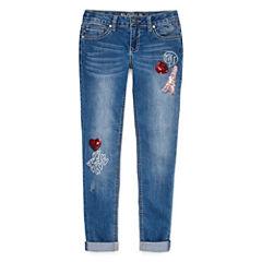Vgold Skinny Fit Jean Big Kid Girls