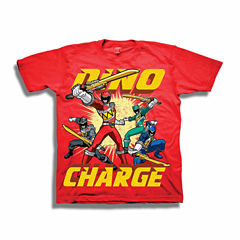 Power Rangers Graphic T-Shirt-Preschool Boys