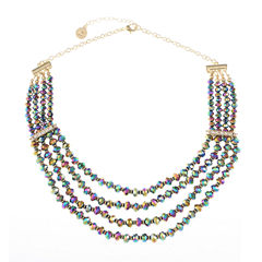 Liz Claiborne Clear Beaded Necklace