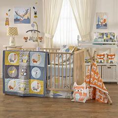 Woods - 4-pc. Crib Bedding Set