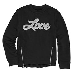 Limited Too Long Sleeve Graphic Sweatshirt - Girls' 7-16