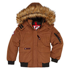 Canada Weather Gear Bomber Parka - Boys 8-20